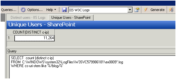 Using Log Parser with SharePoint - Todd Klindt's Office 365