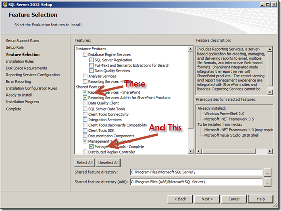 Installing SSRS 2012 without upgrading your database server - Todd