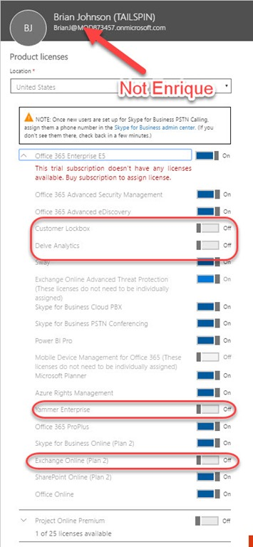 Using PowerShell to Specify License Plans in Office 365 - Todd