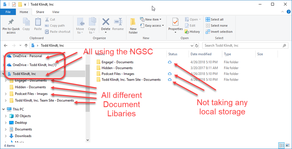 Use OneDrive Client instead of Explorer View or Map Network