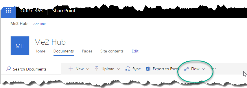Posts: How to Disable the Flow button in SharePoint Online